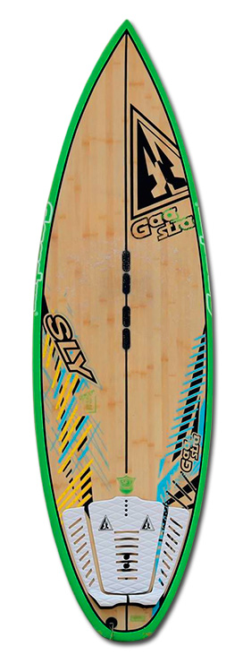 Kite Board Sly Bamboo 5´8´´ - 2014