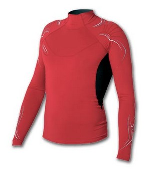 Lycra Cure Heavy Long sl. Red