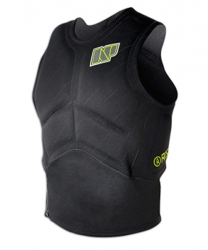 Vesta Impact Vest Side Zip Black/Green