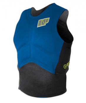 Vesta Impact Vest Side Zip Blue/Black
