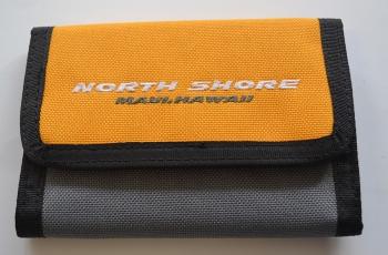 Peněženka North Shore žlutá/šedá