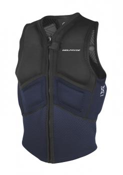 Vesta Combat Impact Vest Front Zip Black/Navy