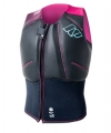 Vesta Lady Impact Vest Women Black/Pink/Mint