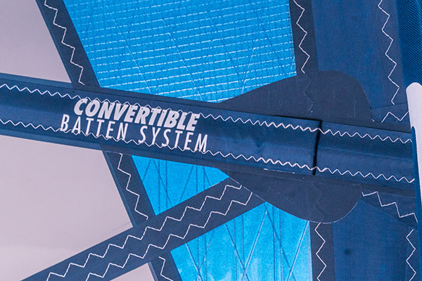CONVERTIBLE BATTEN SYSTEM